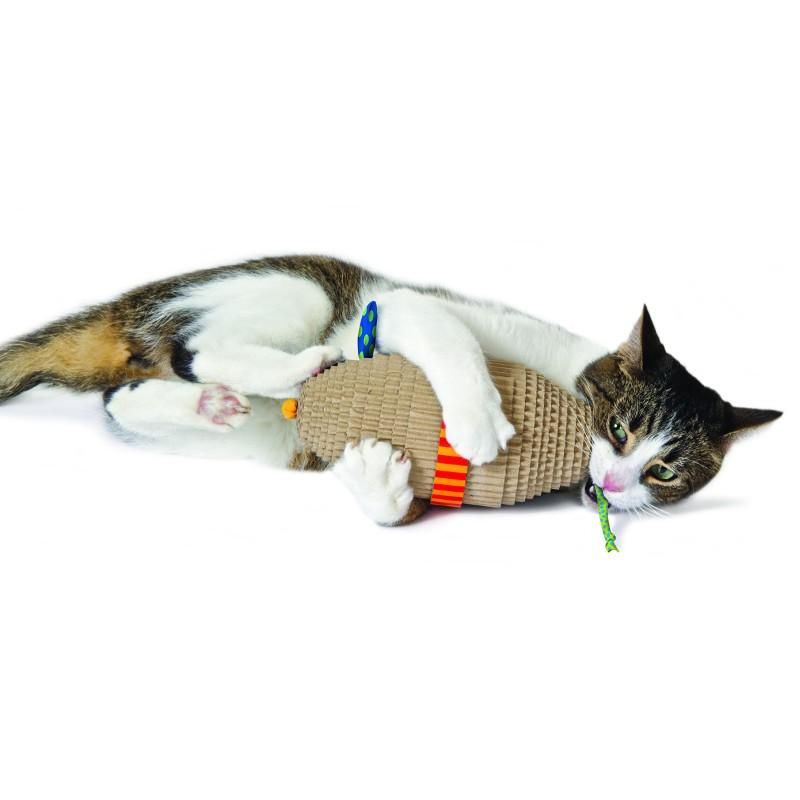"Handbemalter Keramiknapf ""Katze & Hund"""