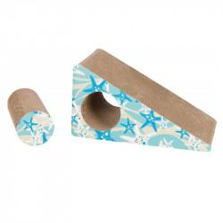 Kratzrampe aus Pappe, 2-teilig